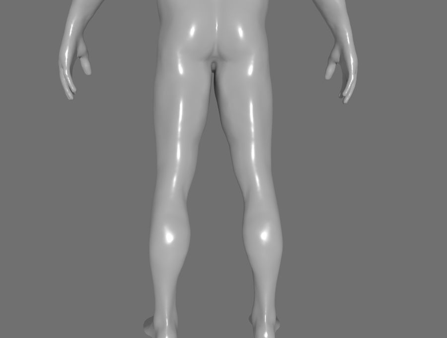CHARACTER royalty-free 3d model - Preview no. 16