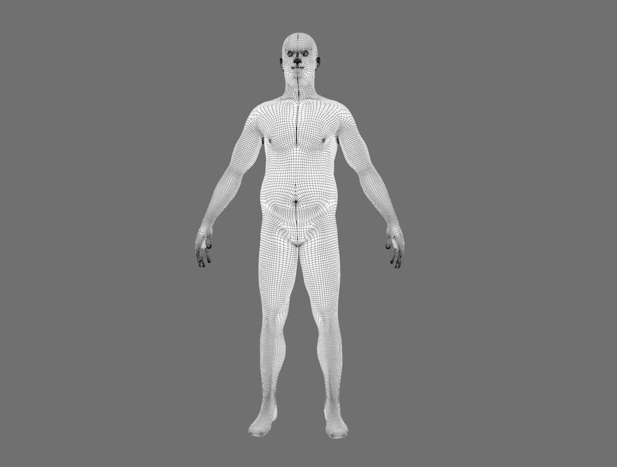 CHARACTER royalty-free 3d model - Preview no. 18