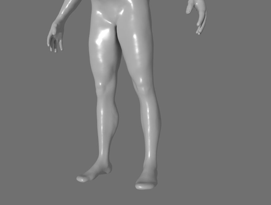 CHARACTER royalty-free 3d model - Preview no. 11