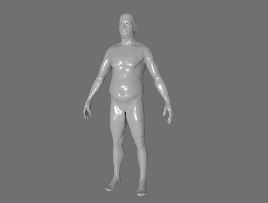 CHARACTER royalty-free 3d model - Preview no. 2