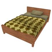 Yatak Örtüsü 12 3d model