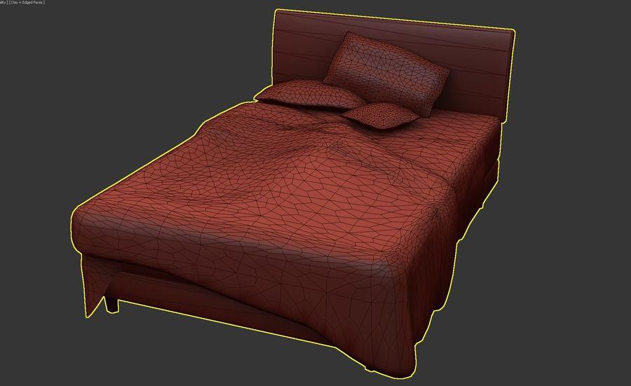 Yatak Örtüsü 08 royalty-free 3d model - Preview no. 5