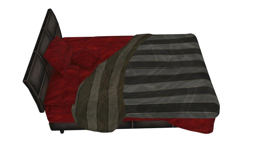 Yatak Örtüsü 08 royalty-free 3d model - Preview no. 2
