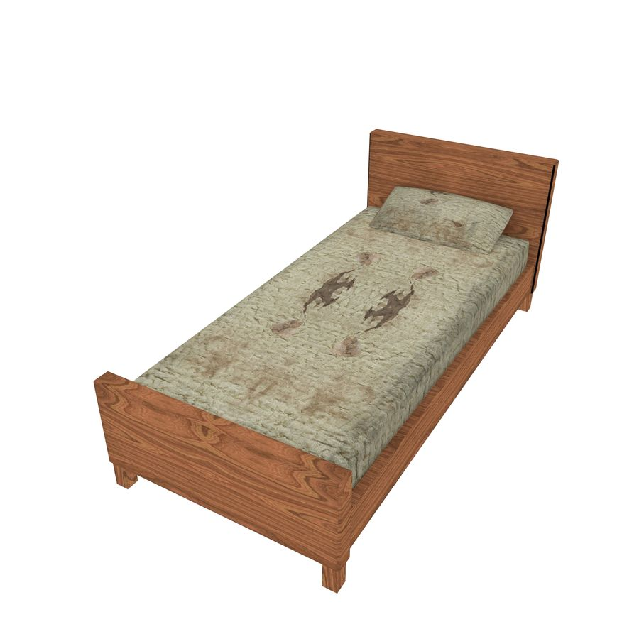 Bedcloth 29 royalty-free 3d model - Preview no. 1