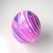 Marble Easter Egg 5 3d model