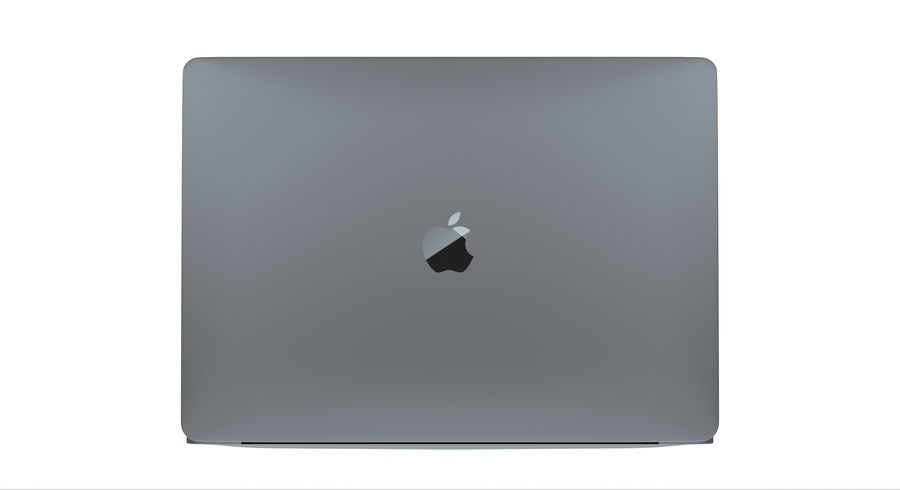 MacBookPro 16-inch royalty-free 3d model - Preview no. 4