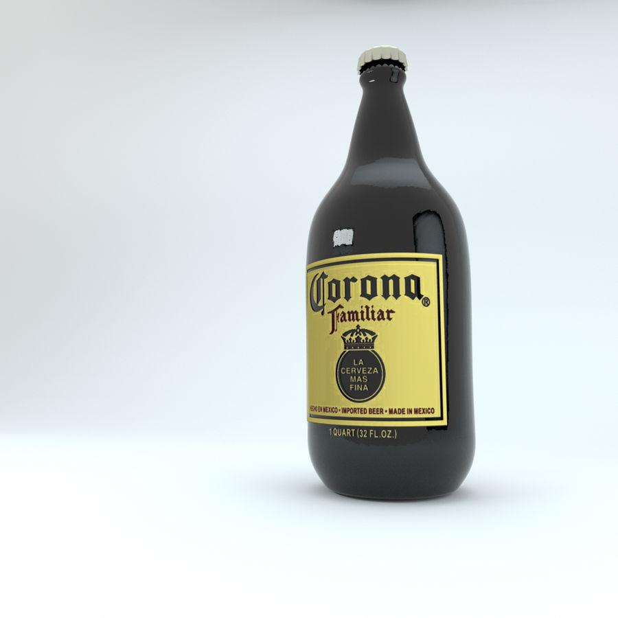 Cerveza Corona royalty-free modelo 3d - Preview no. 3