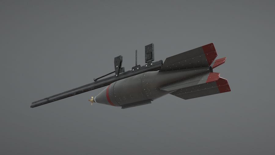 JP Rocket Type3 Mk28 royalty-free 3d model - Preview no. 1