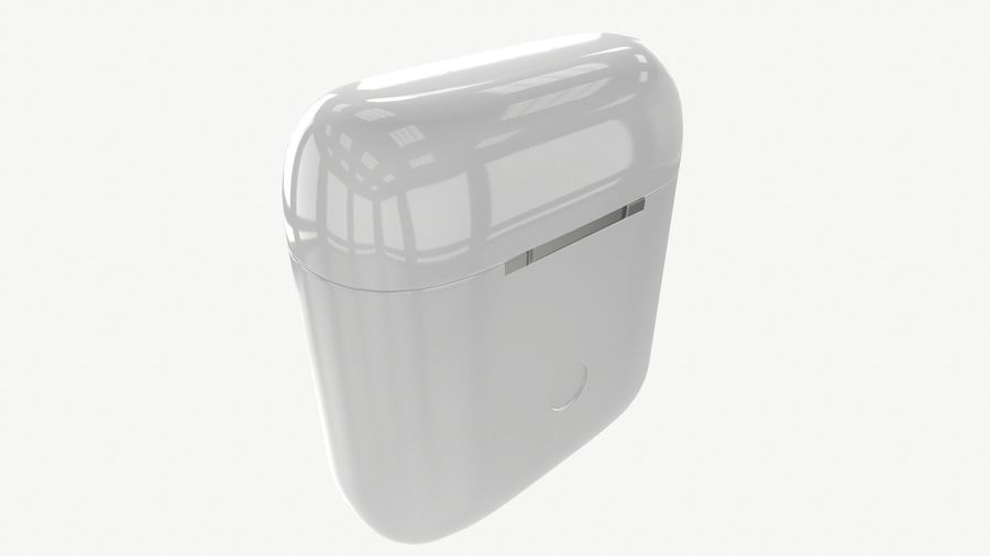 Apple AirPods with Case royalty-free 3d model - Preview no. 8
