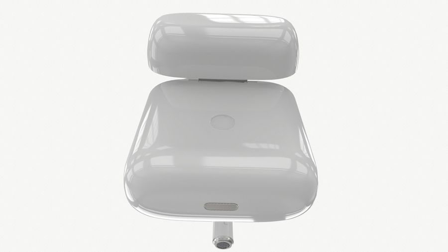Apple AirPods with Case royalty-free 3d model - Preview no. 7