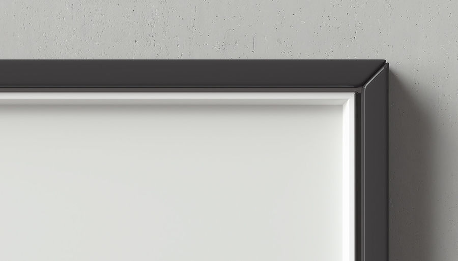 Picture Frames Set -128 royalty-free 3d model - Preview no. 8