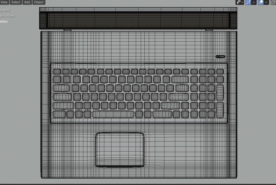 Laptop royalty-free 3d model - Preview no. 14