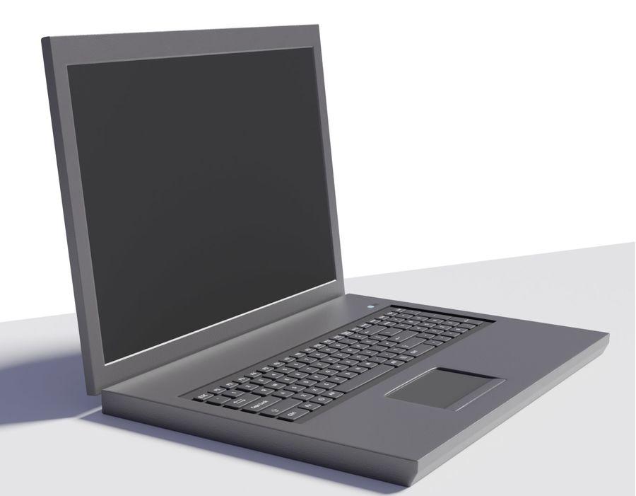Laptop royalty-free 3d model - Preview no. 1