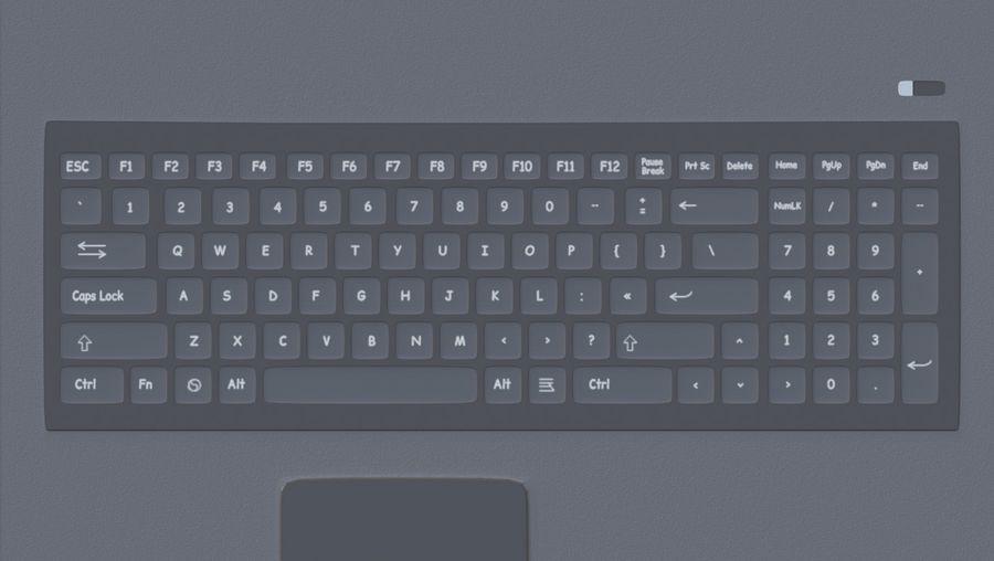 Laptop royalty-free 3d model - Preview no. 12