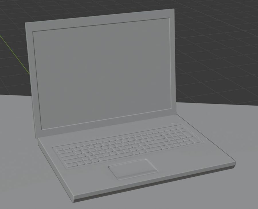 Laptop royalty-free 3d model - Preview no. 6