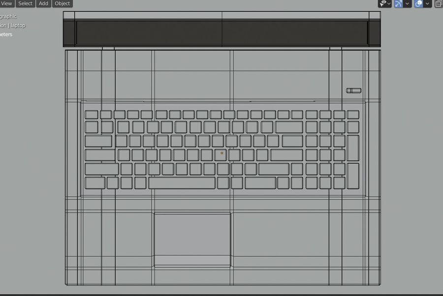 Laptop royalty-free 3d model - Preview no. 13