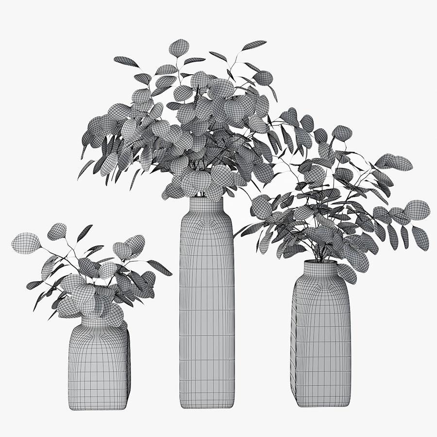 Eucalyptus 05 royalty-free 3d model - Preview no. 2