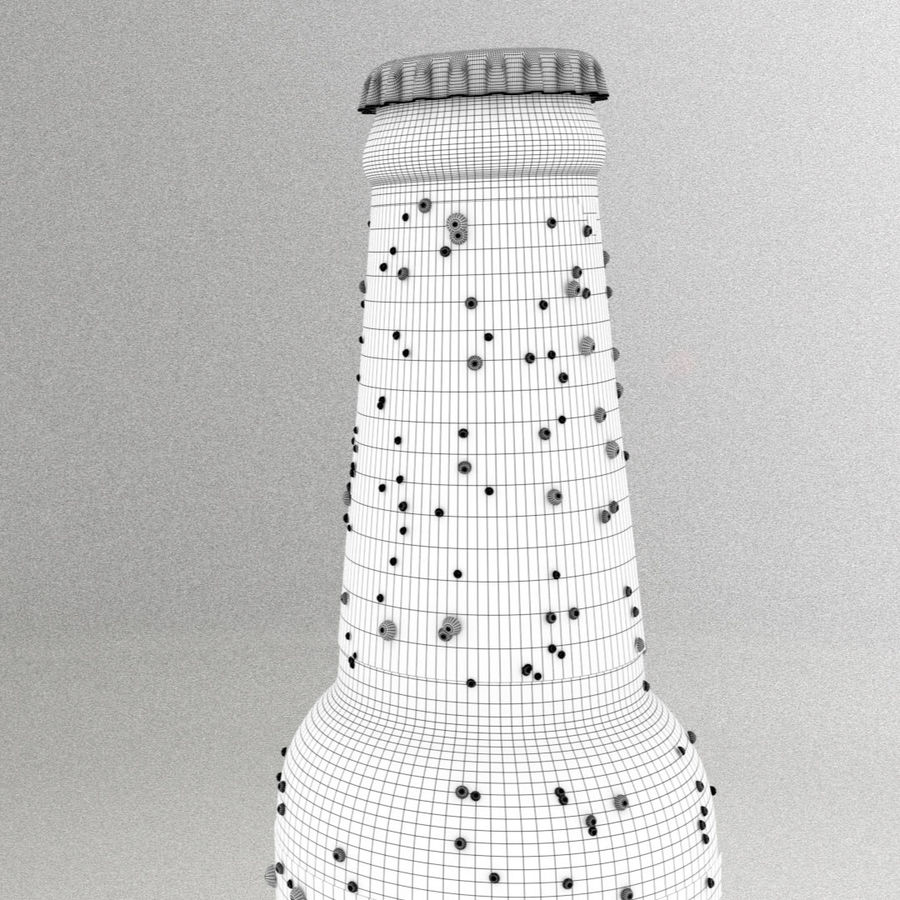 Beer Bottle royalty-free 3d model - Preview no. 9