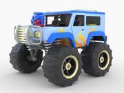 Toy Monster Truck 3d model