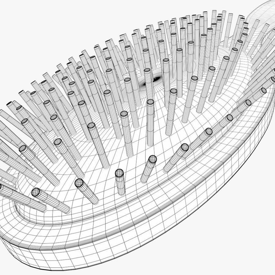 Щетка для подушки royalty-free 3d model - Preview no. 7