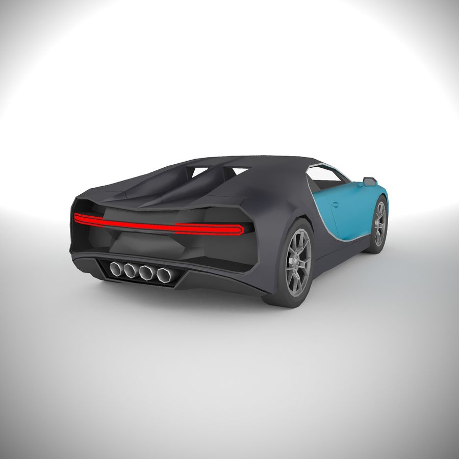PolyCAR N71 lp1 royalty-free 3d model - Preview no. 1