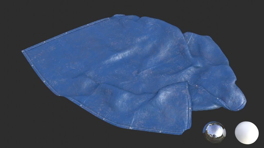 Tarp Assets 01 royalty-free 3d model - Preview no. 30
