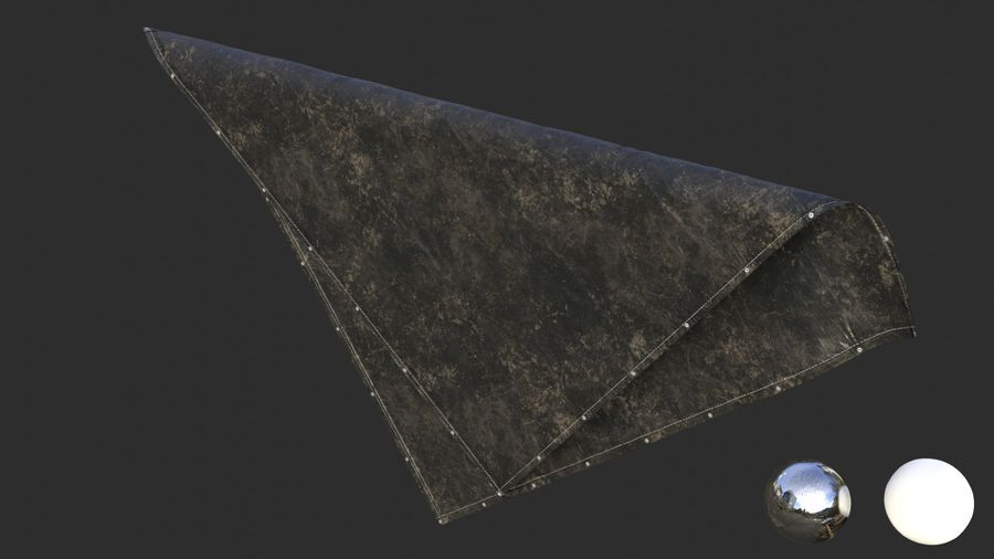 Tarp Assets 01 royalty-free 3d model - Preview no. 15
