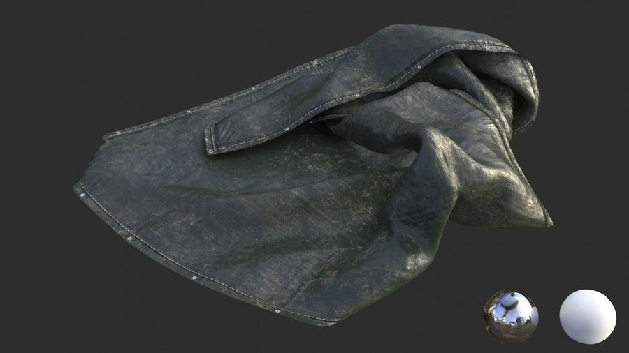 Tarp Assets 01 royalty-free 3d model - Preview no. 39
