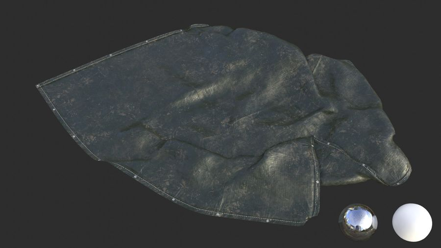 Tarp Assets 01 royalty-free 3d model - Preview no. 41