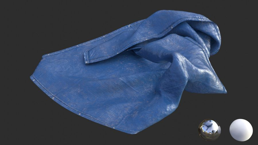 Tarp Assets 01 royalty-free 3d model - Preview no. 28
