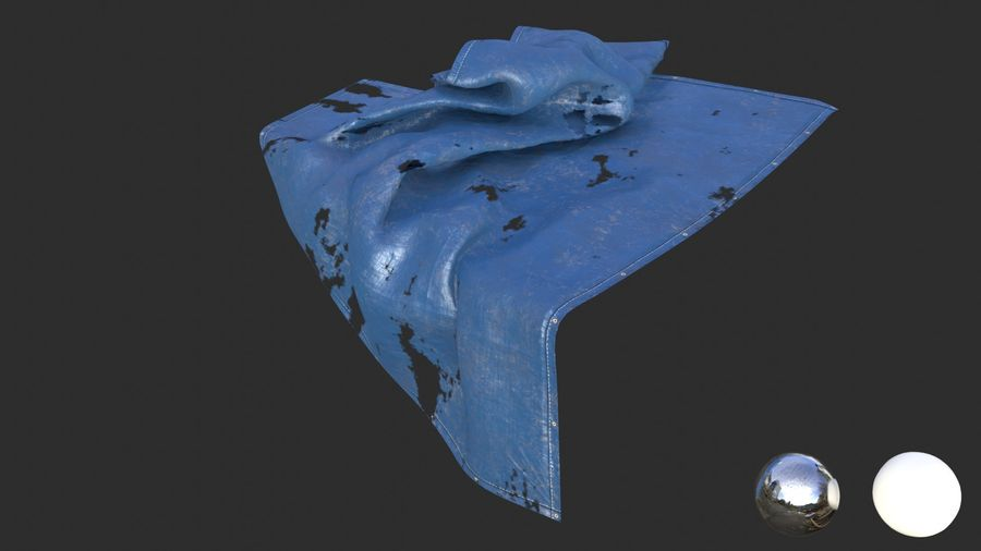 Tarp Assets 01 royalty-free 3d model - Preview no. 46