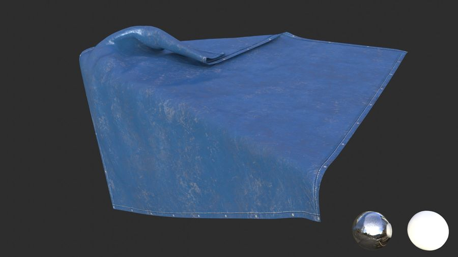 Tarp Assets 01 royalty-free 3d model - Preview no. 23
