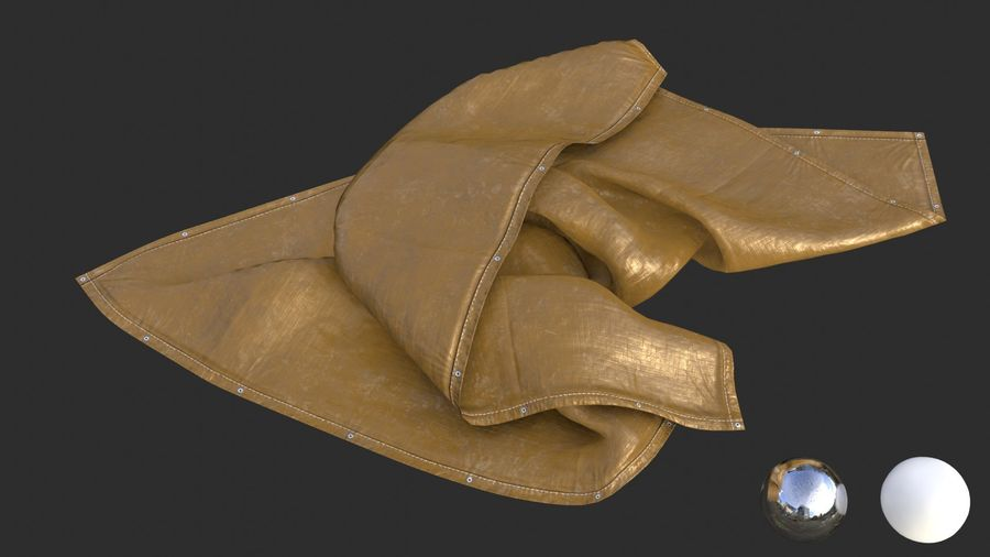 Tarp Assets 01 royalty-free 3d model - Preview no. 62