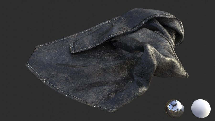 Tarp Assets 01 royalty-free 3d model - Preview no. 17