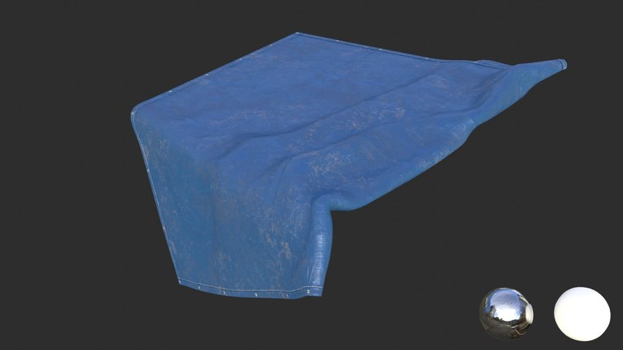 Tarp Assets 01 royalty-free 3d model - Preview no. 22
