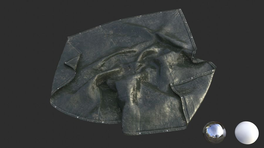 Tarp Assets 01 royalty-free 3d model - Preview no. 38