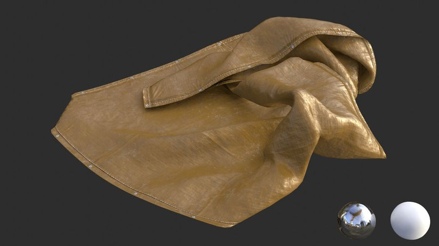 Tarp Assets 01 royalty-free 3d model - Preview no. 61