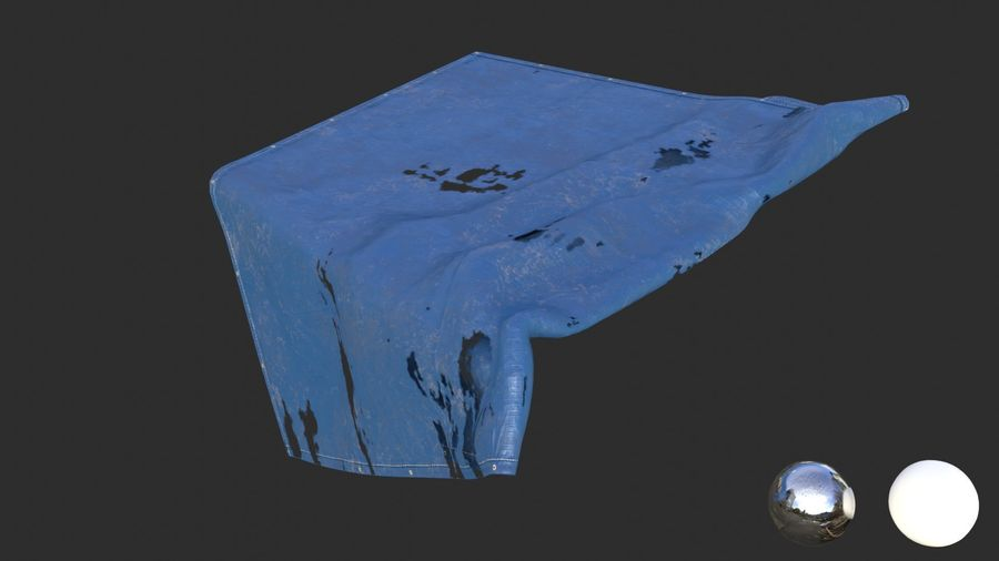 Tarp Assets 01 royalty-free 3d model - Preview no. 44