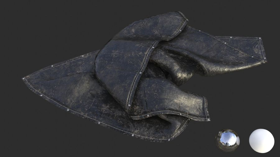 Tarp Assets 01 royalty-free 3d model - Preview no. 18