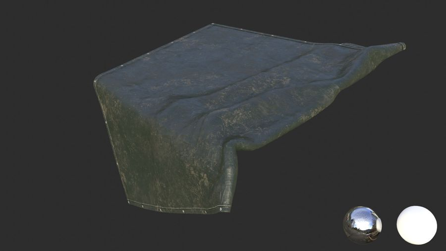 Tarp Assets 01 royalty-free 3d model - Preview no. 33