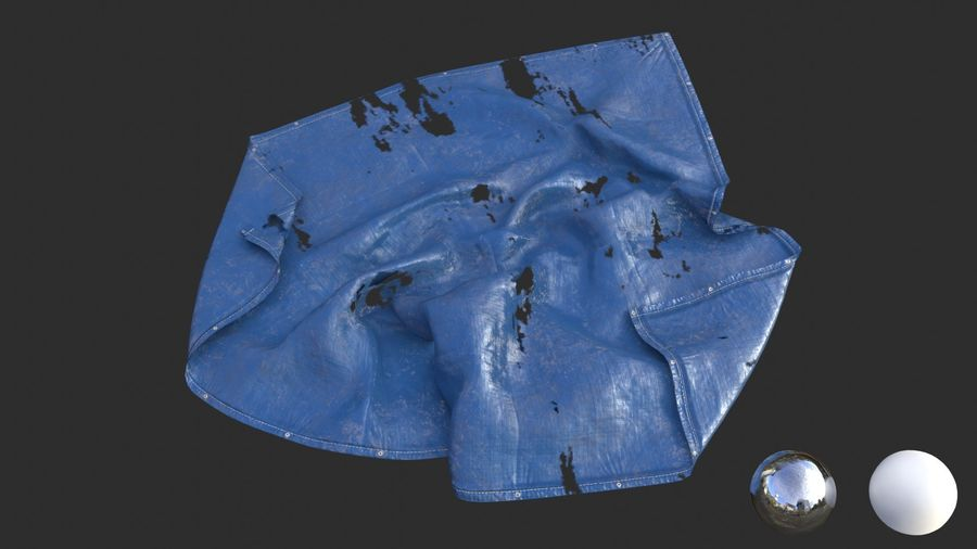 Tarp Assets 01 royalty-free 3d model - Preview no. 49