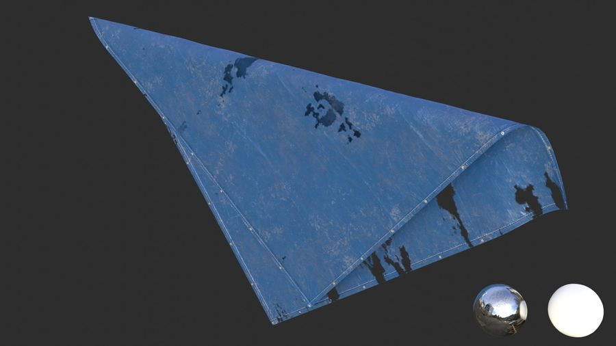 Tarp Assets 01 royalty-free 3d model - Preview no. 47