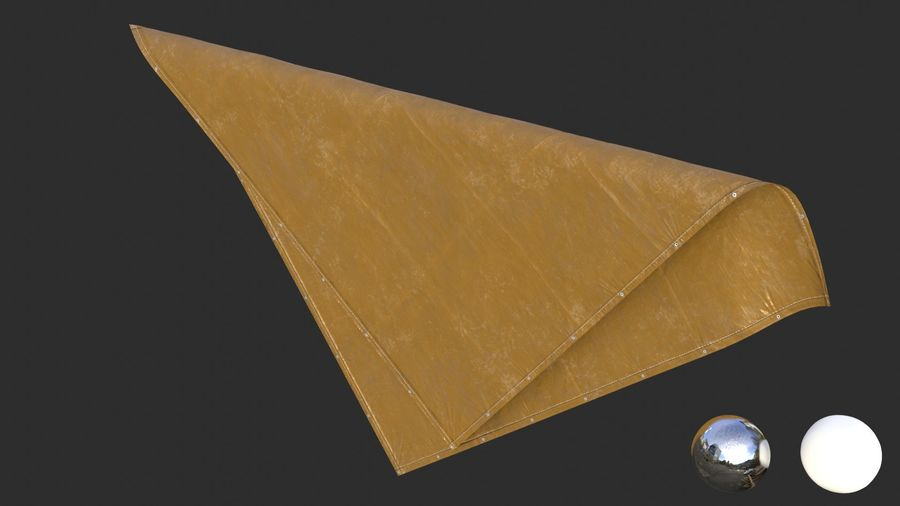 Tarp Assets 01 royalty-free 3d model - Preview no. 58