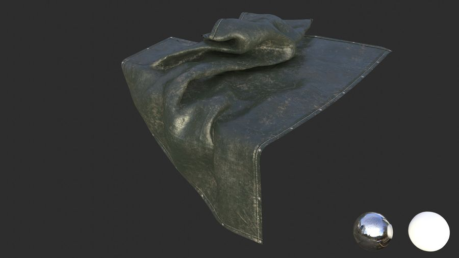 Tarp Assets 01 royalty-free 3d model - Preview no. 35