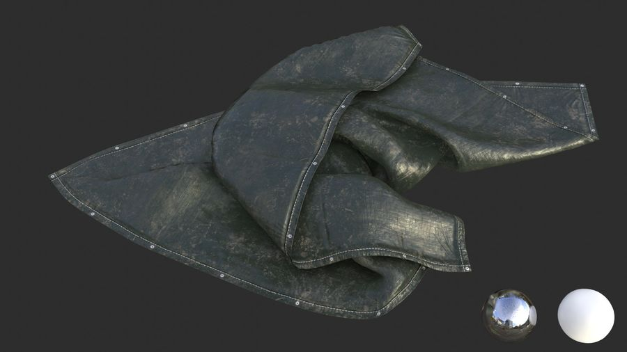 Tarp Assets 01 royalty-free 3d model - Preview no. 40