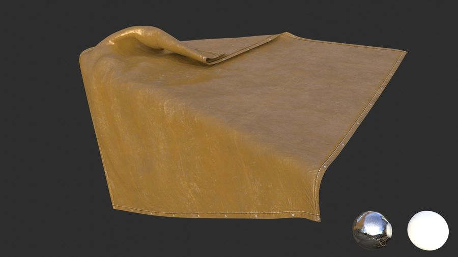 Tarp Assets 01 royalty-free 3d model - Preview no. 56