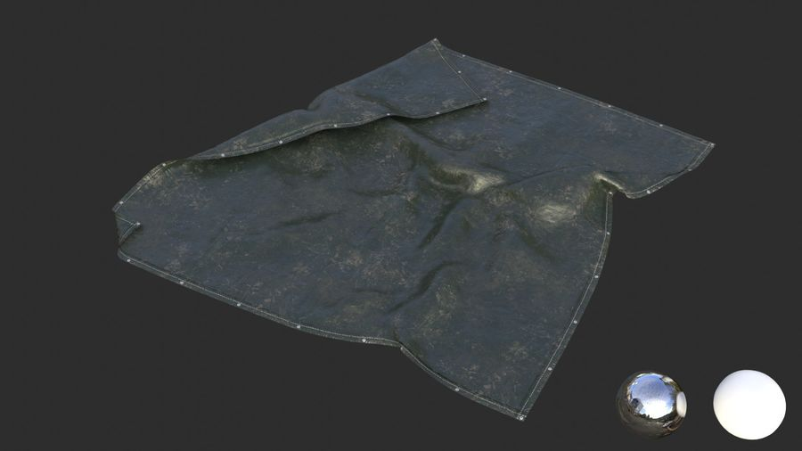 Tarp Assets 01 royalty-free 3d model - Preview no. 37