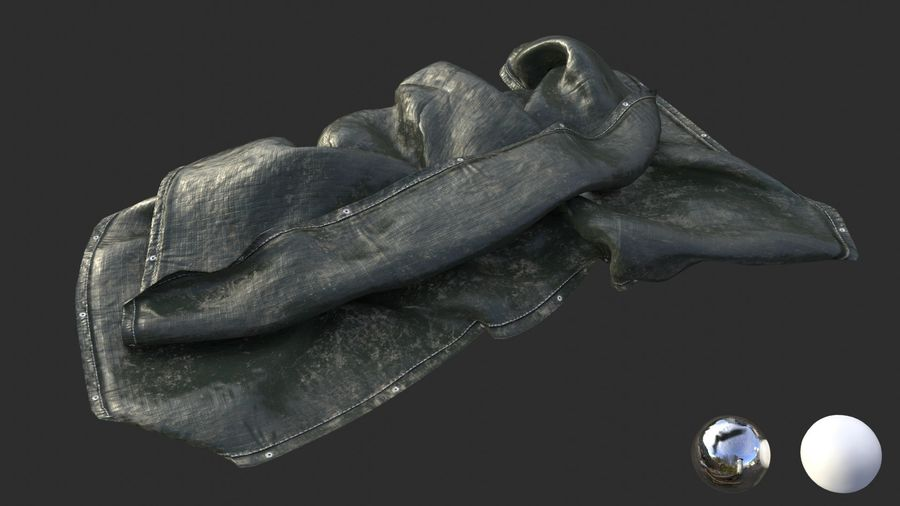 Tarp Assets 01 royalty-free 3d model - Preview no. 42
