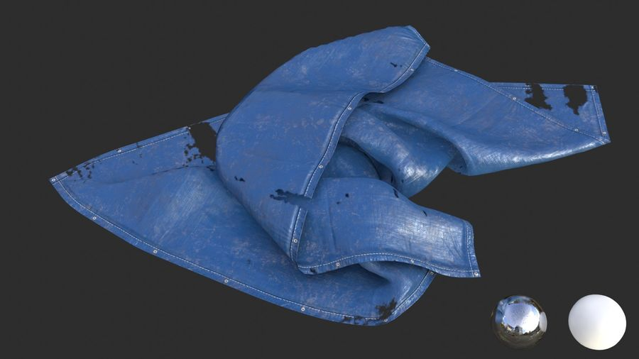 Tarp Assets 01 royalty-free 3d model - Preview no. 51