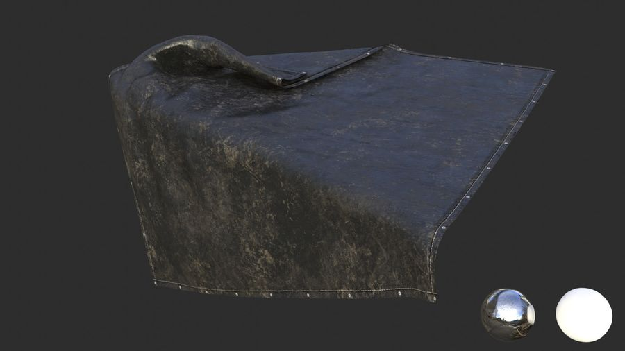 Tarp Assets 01 royalty-free 3d model - Preview no. 13